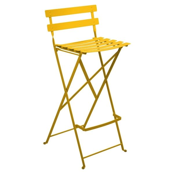 Fermob Bistro High Stool in Honey