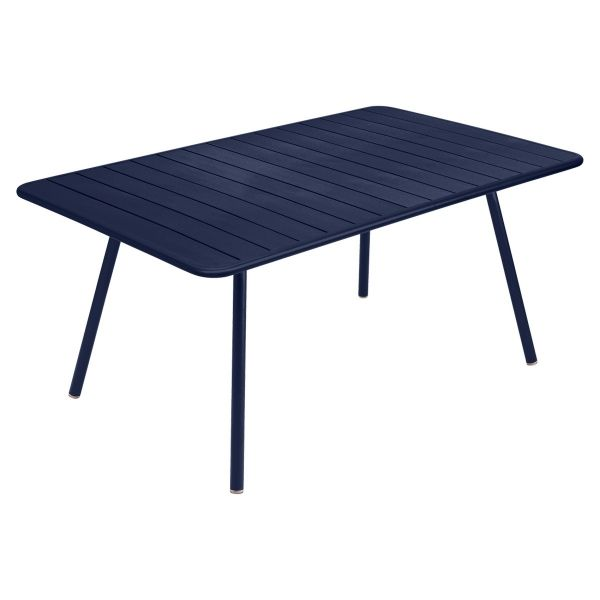 Fermob Luxembourg Table 165 x 100cm in Deep Blue