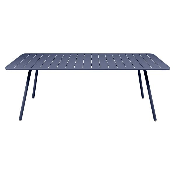 Fermob Luxembourg Table 207 x 100cm in Deep Blue