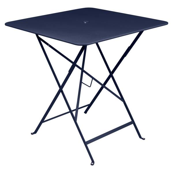 Fermob Bistro Table Square 71 x 71cm in Deep Blue