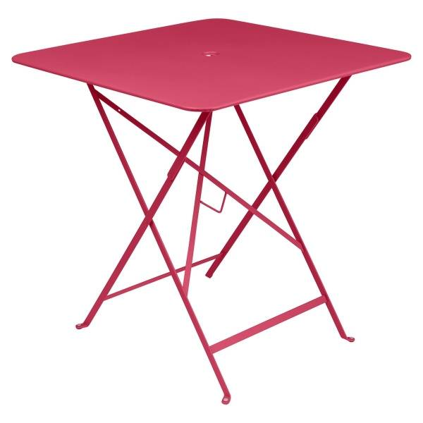 Fermob Bistro Table Square 71 x 71cm in Pink Praline
