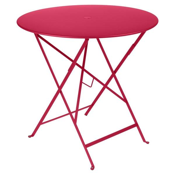 Fermob Bistro Table Round 77cm in Pink Praline
