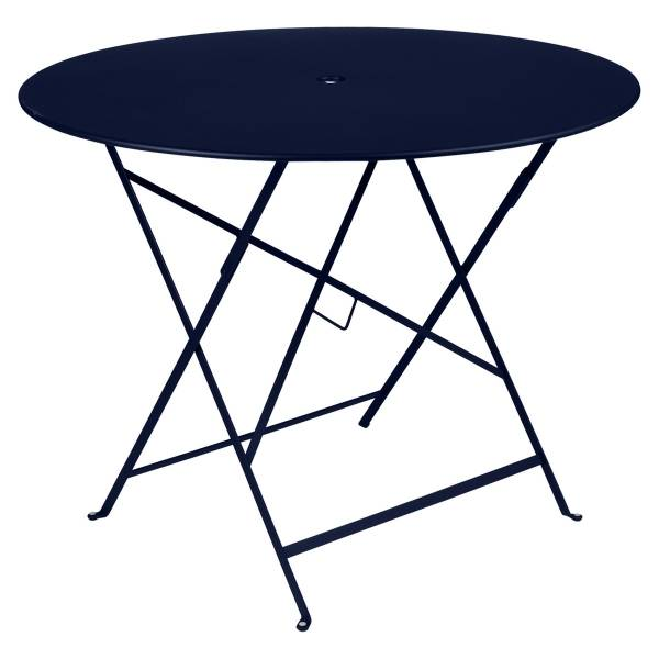 Fermob Bistro Table Round 96cm in Deep Blue
