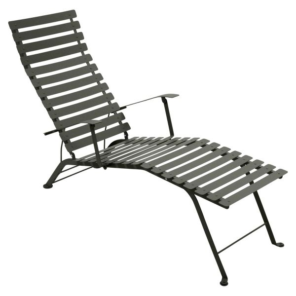 Fermob Bistro Deck Chair in Rosemary