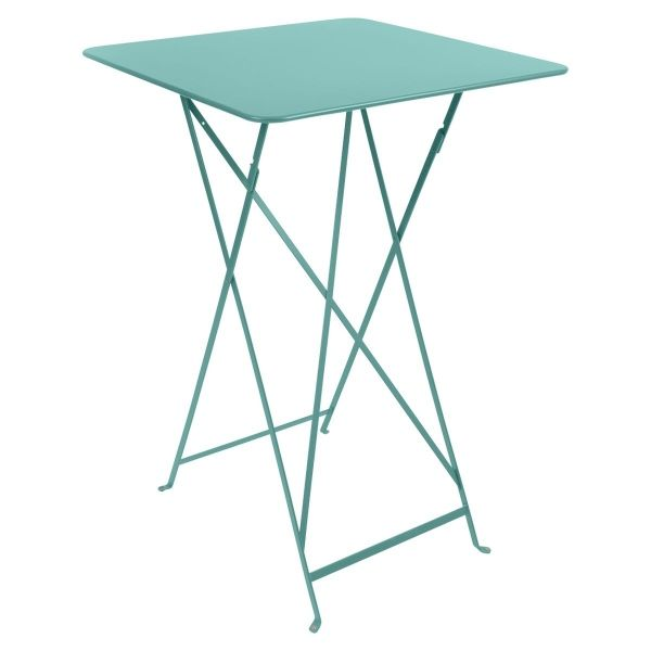 Fermob Bistro High Table 71 x 71cm in Lagoon Blue
