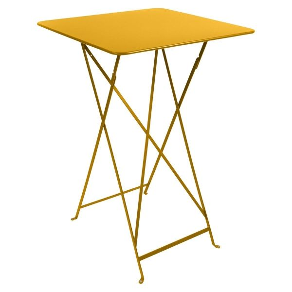 Fermob Bistro High Table 71 x 71cm in Honey