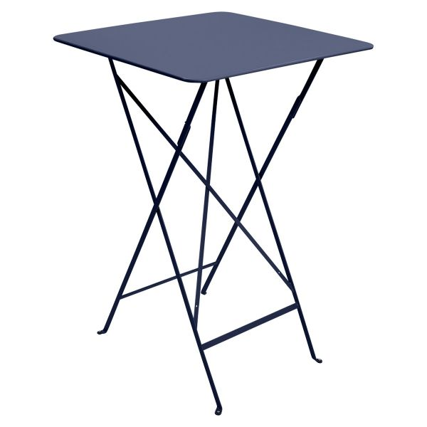 Fermob Bistro High Table 71 x 71cm in Deep Blue