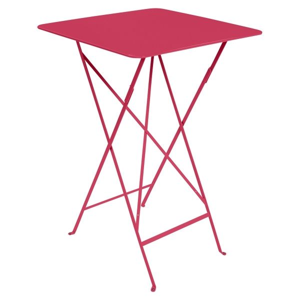 Fermob Bistro High Table 71 x 71cm in Pink Praline