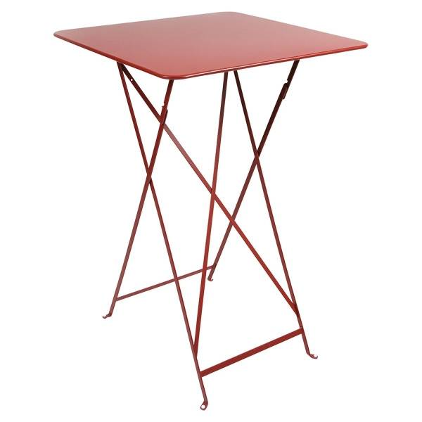 Fermob Bistro High Table 71 x 71cm in Poppy