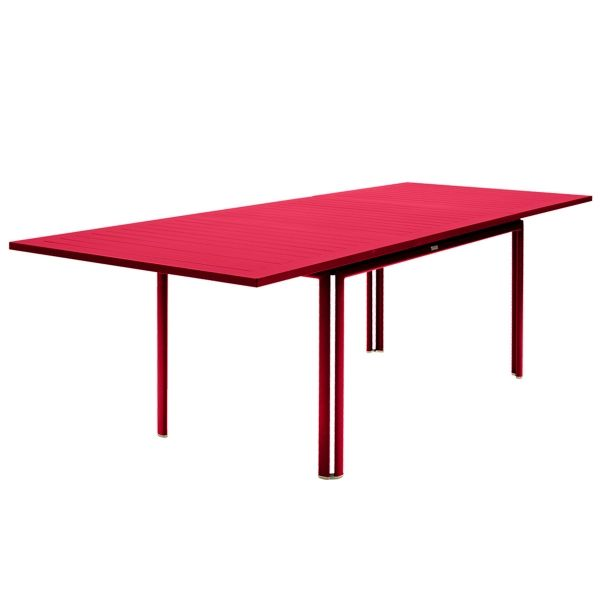 Fermob Costa Extending Table 160 to 240cm x 90cm in Pink Praline