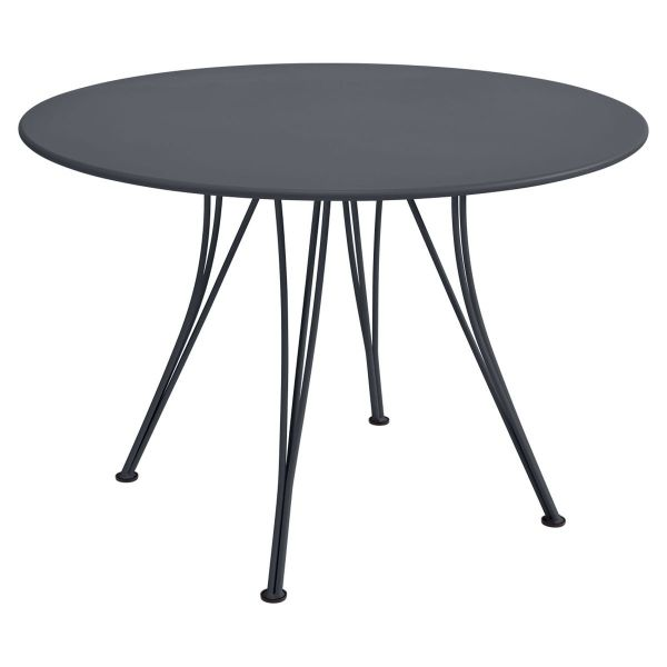Fermob Rendez-vous Table Round 110cm in Anthracite