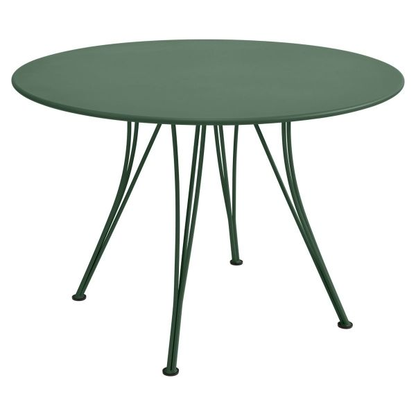 Fermob Rendez-vous Table Round 110cm in Cedar Green