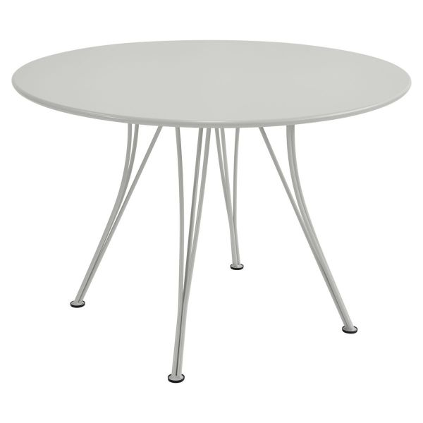 Fermob Rendez-vous Table Round 110cm in Steel Grey