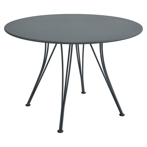 Fermob Rendez-vous Table Round 110cm in Storm Grey