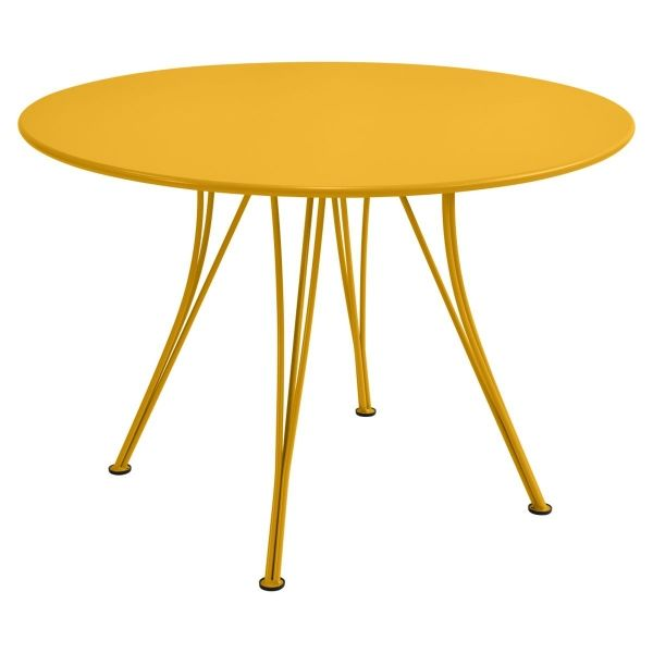 Fermob Rendez-vous Table Round 110cm in Honey
