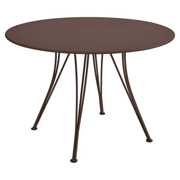 Fermob Rendez-vous Table Round 110cm in Russet