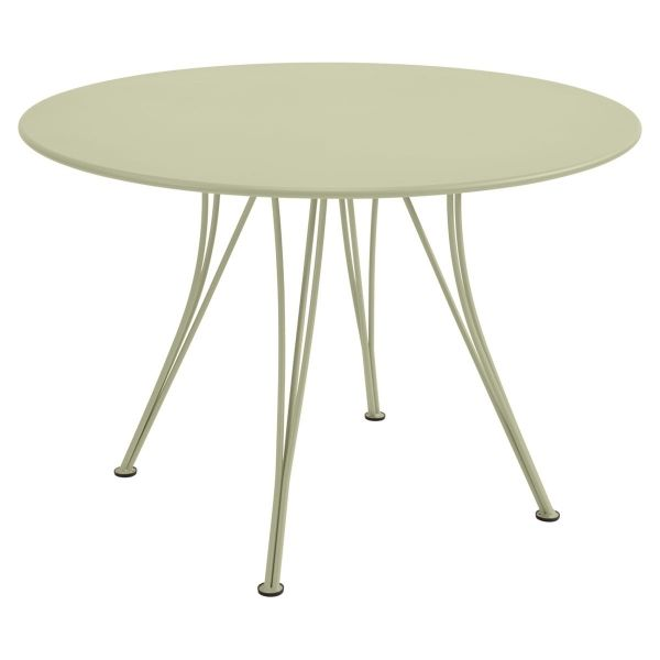 Fermob Rendez-vous Table Round 110cm in Willow Green