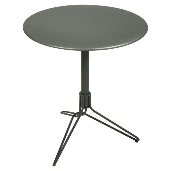 Fermob Flower Pedestal Table Round 67cm in Rosemary