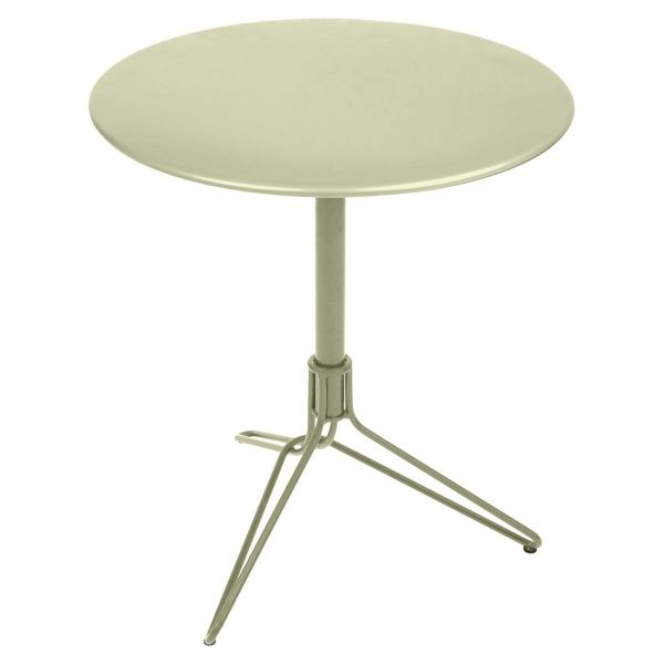 Fermob Flower Pedestal Table Round 67cm in Willow Green