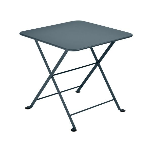 Fermob Tom Pouce Low Table 50 x 50cm in Storm Grey