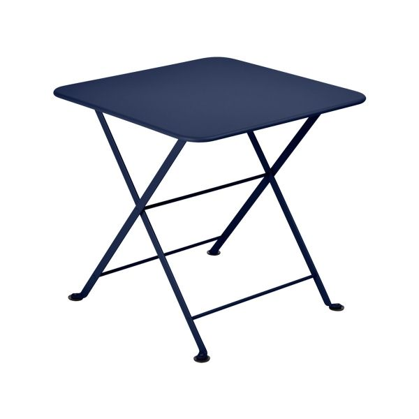 Fermob Tom Pouce Low Table 50 x 50cm in Deep Blue