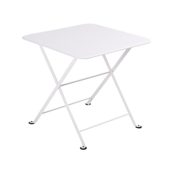 Fermob Tom Pouce Low Table 50 x 50cm in Cotton White