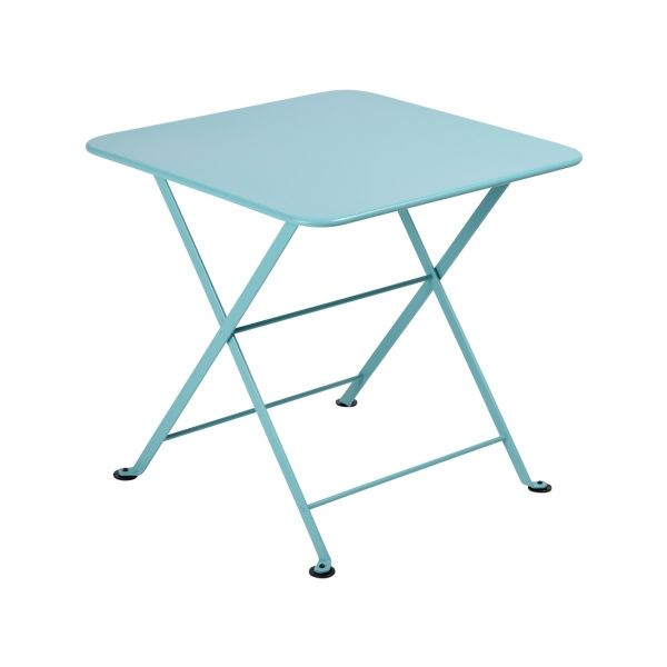 Fermob Tom Pouce Low Table 50 x 50cm in Lagoon Blue