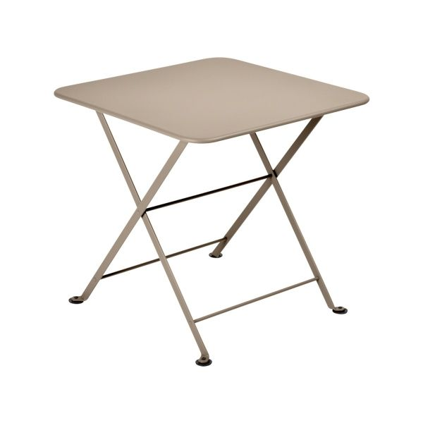 Fermob Tom Pouce Low Table 50 x 50cm in Nutmeg