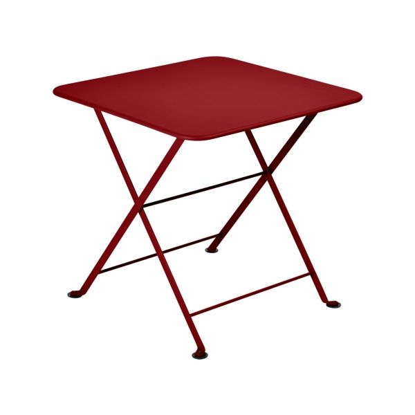 Fermob Tom Pouce Low Table 50 x 50cm in Chilli