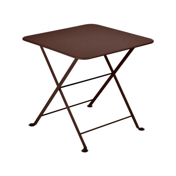 Fermob Tom Pouce Low Table 50 x 50cm in Russet