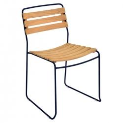 Surprising Chair - Teak in colour Deep Blue from Surprising Collection
