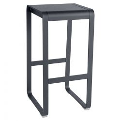Bellevie High Stool in colour Anthracite from Bellevie Contemporary Outdoor Furniture