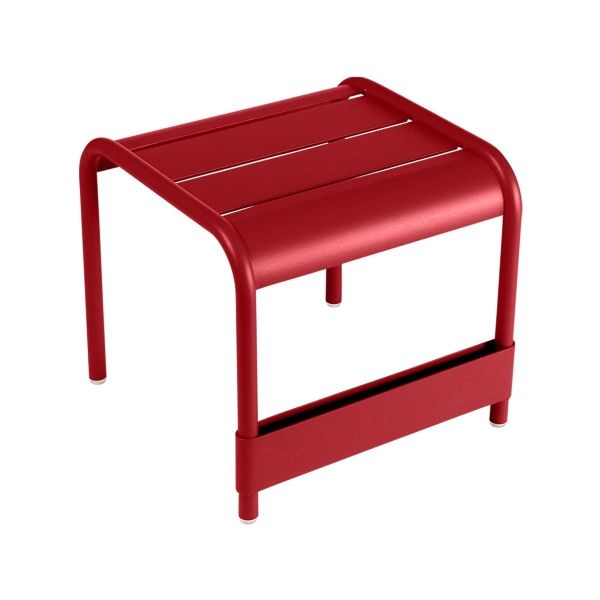 Fermob Luxembourg Small Low Table in Poppy