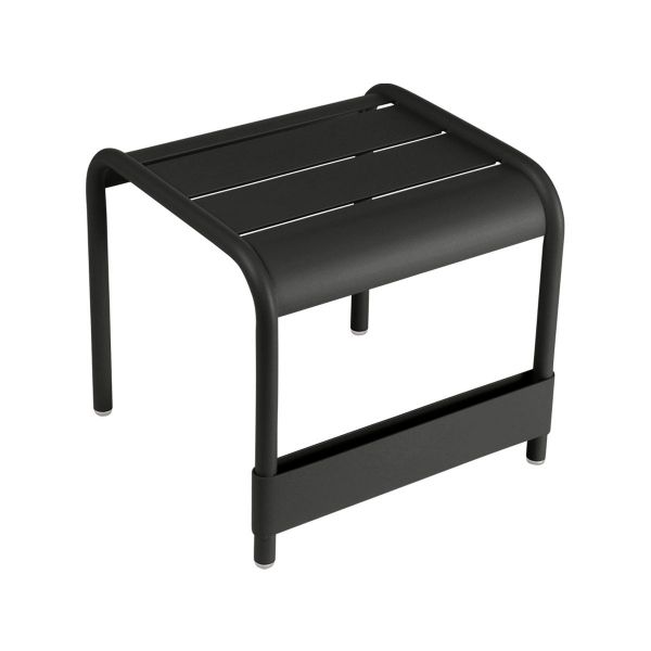 Fermob Luxembourg Small Low Table in Liquorice