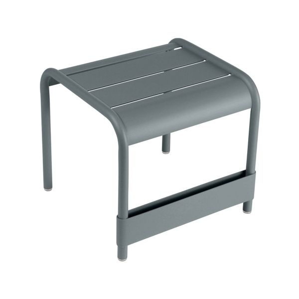 Fermob Luxembourg Small Low Table in Storm Grey