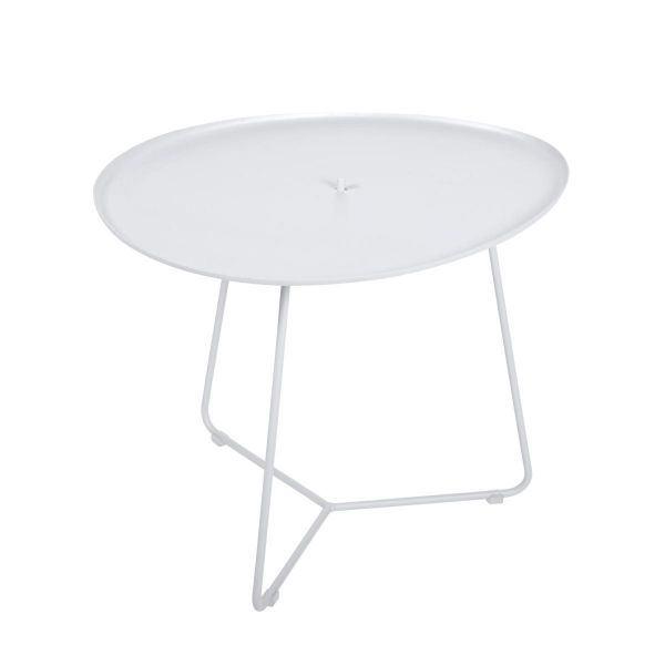 Fermob Cocotte Low Table in Cotton White