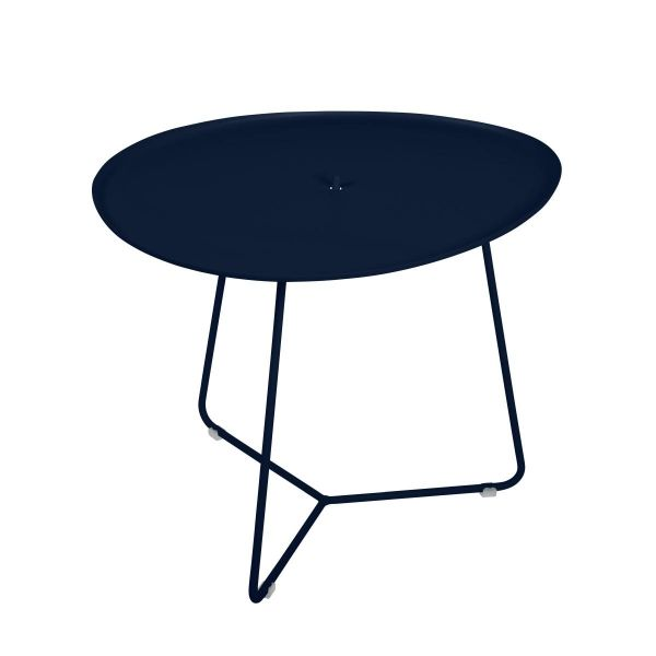 Fermob Cocotte Low Table in Deep Blue