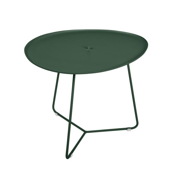 Fermob Cocotte Low Table in Cedar Green