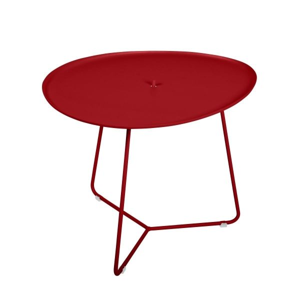 Fermob Cocotte Low Table in Poppy