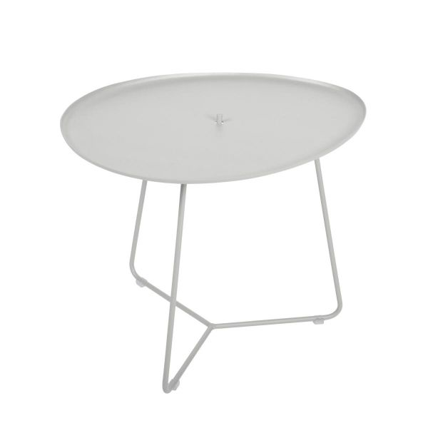 Fermob Cocotte Low Table in Steel Grey