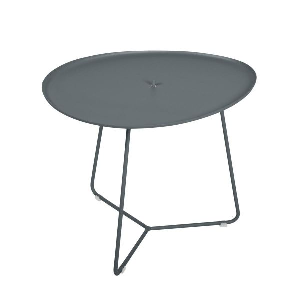 Fermob Cocotte Low Table in Storm Grey
