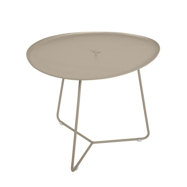 Fermob Cocotte Low Table in Nutmeg