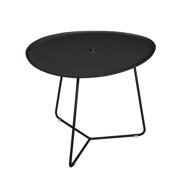 Fermob Cocotte Low Table in Liquorice