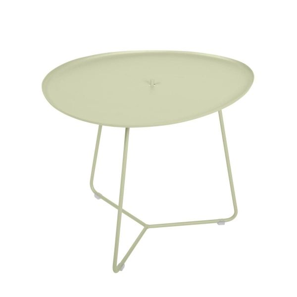 Fermob Cocotte Low Table in Willow Green