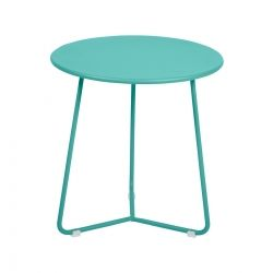 Cocotte Low Stool in colour Lagoon Blue from Cocotte Collection