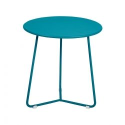 Cocotte Low Stool in colour Turquoise from Cocotte Collection