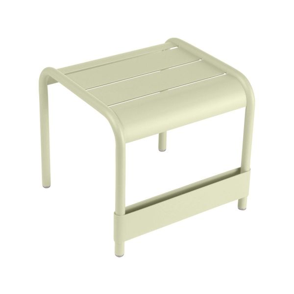 Fermob Luxembourg Small Low Table in Willow Green