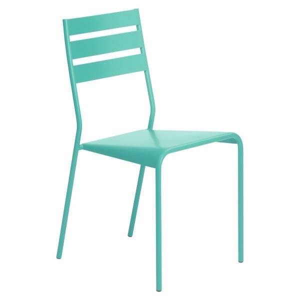 Fermob Facto Chair in Lagoon Blue