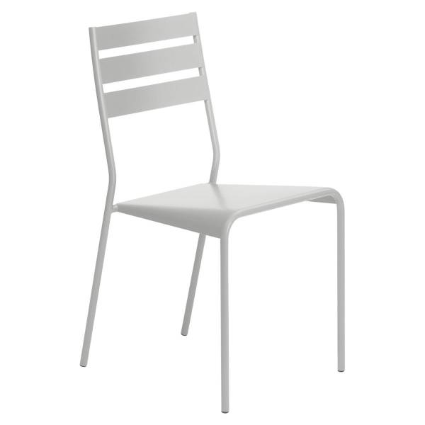 Fermob Facto Chair in Steel Grey