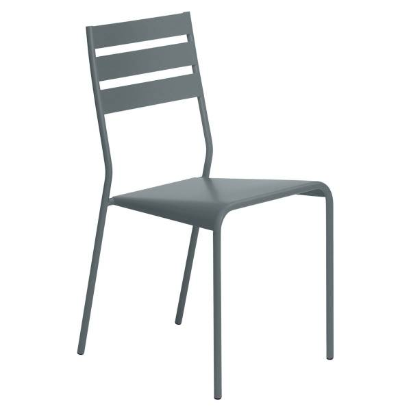 Fermob Facto Chair in Storm Grey